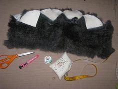 Rabbit Fur Hat tutorial by terrabytefarm, via Flickr