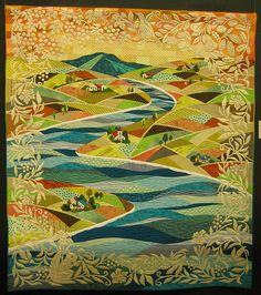The Eternal by Junko Yazawa.  2010 Tokyo International Quilt Festival.  Photo by Be*musted [Jan B.], via Flickr.