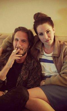 Lana Del Rey with Emile Haynie #LDR