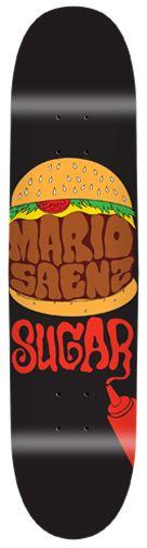 Saenz Hamburger Skateboard