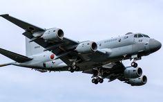 "enrique262: "" Japan Maritime Self-Defense Force, Kawasaki P-1 maritime patrol aircraft. """