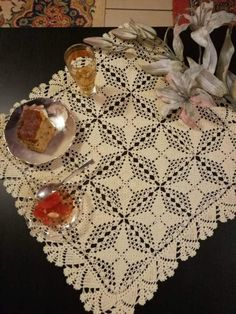 Check out this item in my Etsy shop https://www.etsy.com/listing/502245088/beige-crochet-lace-square-tablecloth