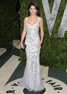 Selena Gomez Dolce & Gabbana gown