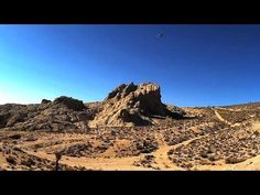 And here's another video of what the $65 WLToys V222 quadcopter can do.  This time flying over Robber's Roost, Inyoker, California.