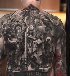 Image result for back piece tattoo designs