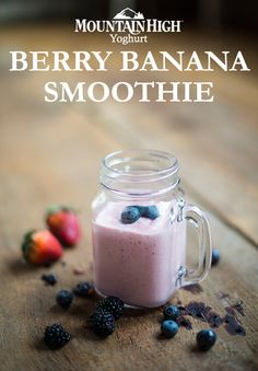 Cutting Calories While Dieting With Cheap Snack Food Banana Berry Smoothie, Fruit Smoothies, Smoothie Recipes, Snack Recipes, Cooking Recipes, Healthy Recipes, Snacks, Yogurt Recipes, Brunch