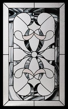 Stained Glass Door Inserts - Royale 22x36 Stocked by Randal's Wrought Iron & Stained Glass serving the Greater Toronto Area and surrounding areas.
