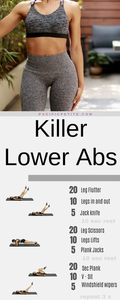 Best Ab Workout, Abs Workout Routines, Abs Workout For Women, At Home Workout Plan, Workout Plans, Post Workout, Stomach Workout For Beginners, Baby Workout, Quick Workout At Home