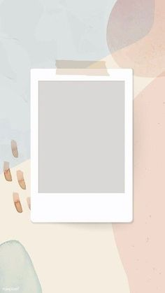 Blank instant photo frame on neutral watercolor ba Framed Wallpaper, Iphone Background Wallpaper, Aesthetic Iphone Wallpaper, Watercolor Background, Blog Wallpaper, Aztec Wallpaper, Frame Background, Glitter Wallpaper, Geometric Background