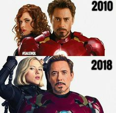 IronMan and Black widow