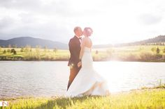 Spruce Mountain Ranch is a gorgeous Colorado ranch wedding venue in Larkspur, Colorado.  Photographed by IN Photography.