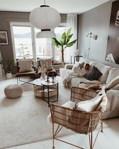 This colour palette is perfection 😍 Credit: . Coastal Living Rooms, Boho Living Room, Home And Living, Living Room Decor, Nordic Living Room, Room Interior Design, Living Room Interior, Coastal Interior, Decoration Design