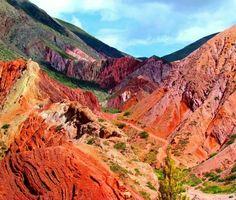 Los colores de Jujuy, en el norte argentino. #argentina