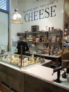 61 Super Ideas For Meat Shop Display Cheese Cheese Quotes, Deli Shop, Cheese Store, Fromage Cheese, How To Store Bread, Supermarket Design, Farm Store, Wine Cheese, Cafe Interior