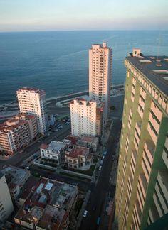 Looking Down from La Torre - Havana, Cuba by Colin Miller