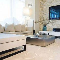 Silver Wallpaper Living Room Ideas