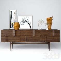"""Ondas"" sideboard+decoration"