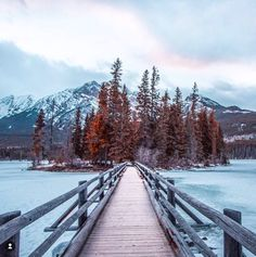 Pyramid Lake Island, Jasper, Canada