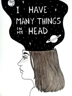 I have many things in my head ☄ Follow me in Instagram for more illustrations: @mitzylian