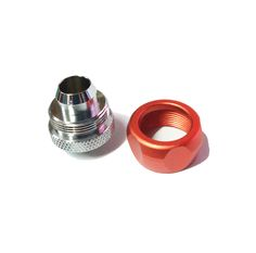BYKSKI Connector Use for Inside Diameter 10mm + Outside Diameter 16mm Pipes 3/8 Hand Fitting G1/4 B-FT3-TK 4 Colors