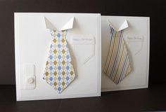 mans card idea   papers for ties from The Clipart Fairy