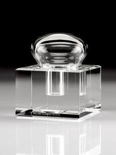 William Yeoward Glass Inkwell Box.