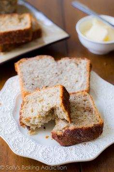 No-Knead Honey Oat Bread. Homemade, healthy and SO easy!  Tastes great with PBJ, grilled cheese, or even toasted with butter.