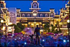 """""""Partners"""" & Main Street U.S.A. Magic Kingdom Walt Disney World Resort Lake Buena Vista, FL"""