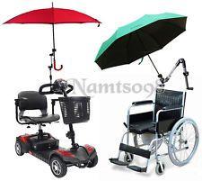 Umbrella Support Connector Holder Stroller Wheelchair Bike Clamp ...