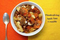Thanksgiving Apple Yam Crumble #WMTMoms