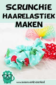 DIY scrunchie haarelastiek - Back to the - Karin Timpert - DIY scrunchie ha. - justin potter 727 - DIY scrunchie haarelastiek - Back to the - Karin Timpert - DIY scrunchie ha. DIY scrunchie haarelastiek - Back to the - Karin Timpe Sewing For Kids, Diy For Kids, How To Make Scrunchies, Diy Furniture Redo, Diy Fashion Accessories, Silvester Party, Diy Gifts For Friends, Diy Sewing Projects, Diy Paper