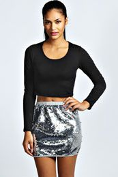 Diana Sequin Mini Skirt