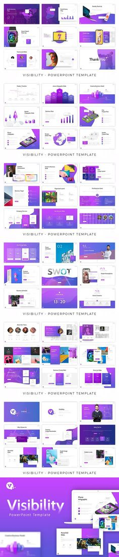 Visibility – Creative Powerpoint Template This template is made perfect for your creative needs. Templates designed based on the 2018 style to meet your Social Media Impact, Office Themes, Ppt Design, Creative Powerpoint Templates, Charts And Graphs, Presentation Templates, Light In The Dark, Infographic, Education
