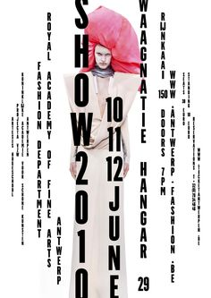 Antwerp Fashion Department 2010 Invitation