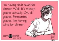 I dont know why I thought this was so funny. I dont even like wine.. or alcohol for that matter. @melanietarpoff