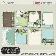 {Afternoon Stroll} Digital Journal Cards by Ooh La La Scraps available at Gingerscraps http://store.gingerscraps.net/Afternoon-Stroll-Journal-and-Pocket-Scrapbooking-Cards.html  and Gotta Pixel http://www.gottapixel.net/store/product.php?productid=10016632&cat=&page=1 #digiscrap #digitalscrapbooking #oohlalascraps #afternoonstroll