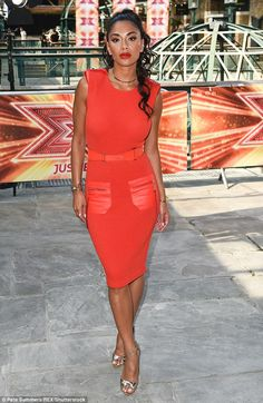 She's back! Nicole Scherzinger was spotted at the X Factor auditions, held at London's Tobacco Dock on Thursday afternoon