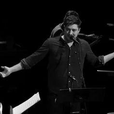 Marcus Mumford performs  at A Prairie Home Companion. December 3, 2016