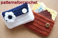 Free crochet pattern bags, purses & cases  ༺✿Teresa Restegui http://www.pinterest.com/teretegui/✿༻
