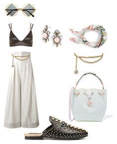 """Untitled #155"" by daii-deea on Polyvore featuring Gucci, Topshop, Jacquemus, BaubleBar, J.Crew, Sophia Webster, Chanel and Retrò"