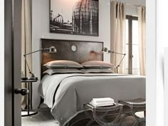 Great masculine bedroom