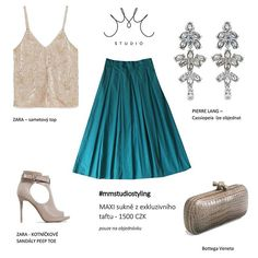 #mmstudio #mmstudiostyling #mmstudiolook #maxiskirt #mystyle #sumernights #eveningoutfit #pierrelang #bottegaveneta #zara…