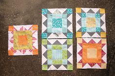 tutorial for weathervane block...keeping these on hand in case i ever get the courage to join a bee...