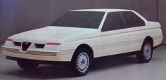 OG | 1987 Alfa Romeo 164 - Project no.156 | Mock-up designed by Pininfarina
