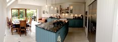 Kitchen extensions Kitchen Extensions, Side Return, Victorian Homes, Home Furniture, Kitchen Ideas, Kitchens, Storage, Table, Home Decor