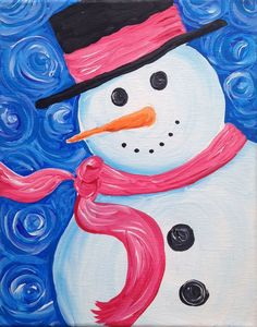 So, this time we have come with some of the mind blowing and extremely adorable easy canvas painting ideas for beginners who have the talent to see life canvas painting for kids Easy Canvas Painting, Winter Painting, Painting For Kids, Acrylic Canvas, Acrylic Paintings, Tattoo Word, Kids Canvas, Canvas Ideas, Christmas Paintings On Canvas