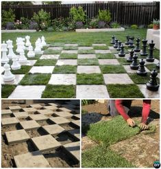 20 DIY Summer Outdoor Games Wild Party For Kids and Adults: DIY Games for Outdoor and Backyard fun and Party Activities for Summer Party. Outdoor Wedding Games, Outdoor Fun, Outdoor Decor, Outdoor Checkers, Party Outdoor, Outdoor Toys, Outdoor Spaces, Lawn Games, Backyard Games