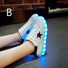 With star shaped holes design, LED Light Up Hollow For Adults is one of the  most breathable and fashionable LED shoes. LED Shoes Hollow can let you  have a ... 1b03753cac