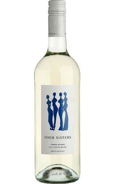 Four Sisters Sauvignon Blanc 2019 Central Victoria - 12 Bottles Four Sisters, Tropical Fruits, Sauvignon Blanc, Vodka Bottle, Bottles, Alcohol, Victoria, White Wines, Medium