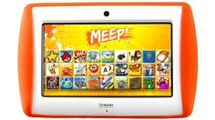 Meep Version 2.0 Android Tablet for kids. Lots of options, plus parental controls.
